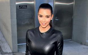 Kim Kardashian: Obleka ni vzdržala njenih oblin