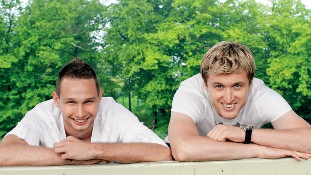 Tim Matavž in Denis Avdić (foto: Goran Antley)
