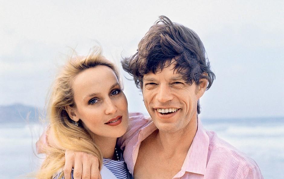 Jerry Hall in Mcik Jagger (foto: Profimedia.si)