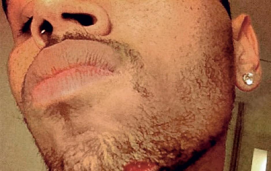 Chris Brown: Stepel se je (foto: Profimedia.si)