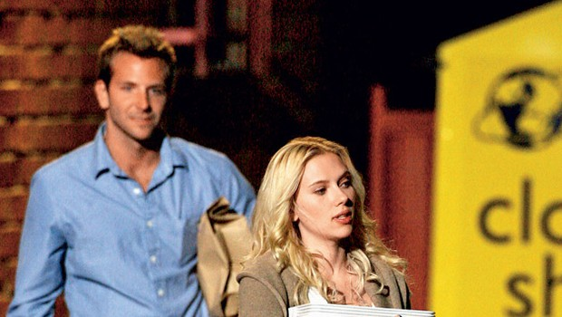 Scarlett Johansson in Bradley Cooper (foto: Profimedia.si)
