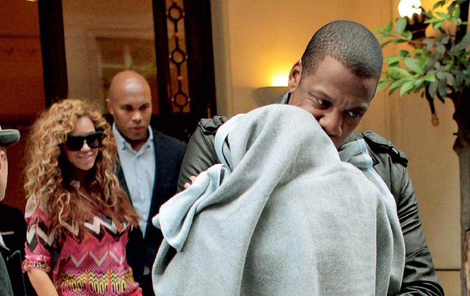 Beyoncé in Jay-Z s hčerko Blue Ivy (foto: Profimedia.si)