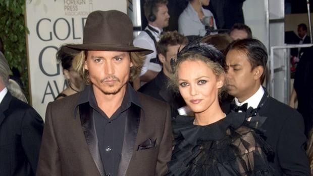 Johnny Depp in Vanessa Paradis (foto: Shutterstock)