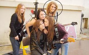 Ekskluzivno: Miss Slovenije je bila punk rockerica