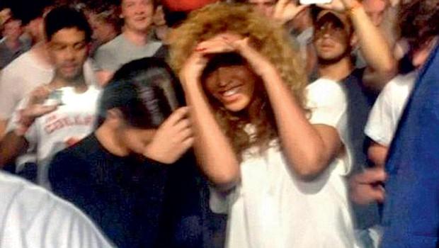 Kim Kardashian in Beyonce (foto: Profimedia.si)