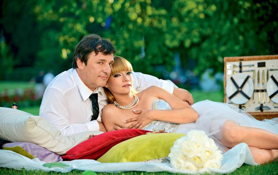 Bojan Emeršič in Viktorija Bencik: Ganljiva zabava do jutra (foto: Peter Uhan)