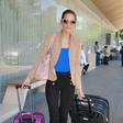 Miss Slovenije odletela na Kitajsko