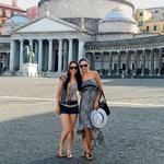 S prijateljico sta na potovanju po Italiji obiskali tudi državico Vatikan. (foto: osebni arhiv)