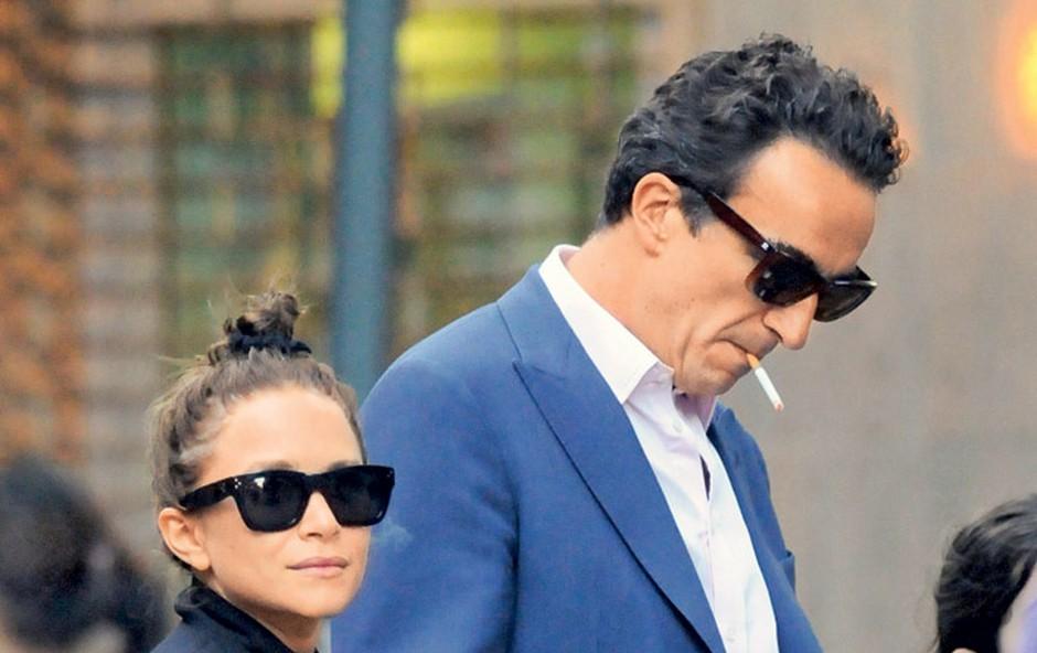 Mary-Kate Olsen in Olivier Sarkozy (foto: Profimedia.si)
