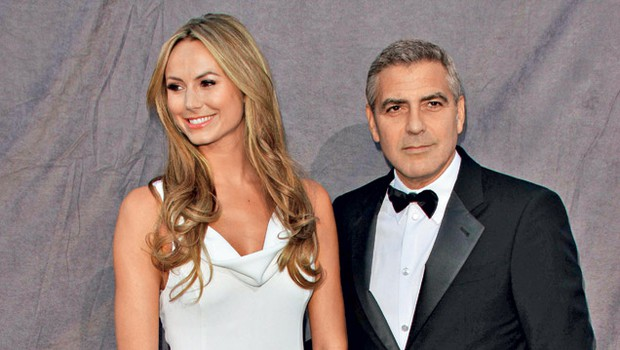 Stacy Kiebler in George Clooney (foto: Shutterstock)