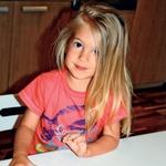 Wernerjeva Kanenas: Mala lepotička praznovala 3 leta (foto: osebni arhiv)