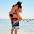 Sanja Grohar in Matej: Zaljubljenca na plaži