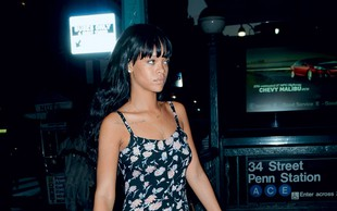 Rihanna: Spet ljubi raperja