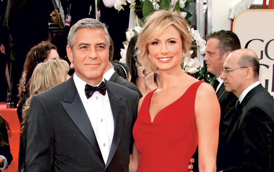 George Clooney in Stacy Keibler (foto: Profimedia.si)