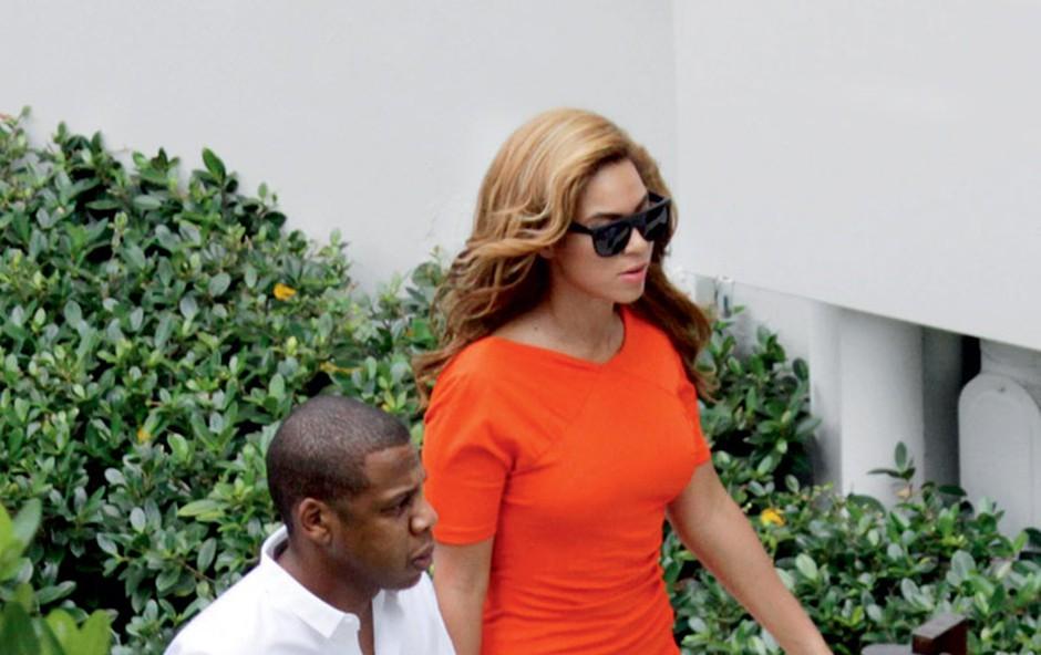 Jay-Z in Beyoncé (foto: Profimedia.si)