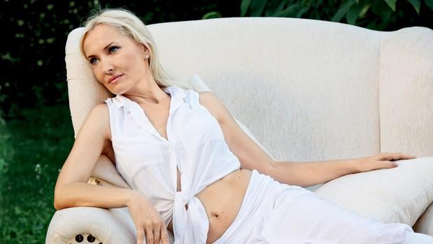 """Tanja Ribič: """"Ela nas vrti okoli prsta!"""" (foto: Helena Kermelj)"""