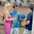 Taya in Jernej Damjan: Izbrala rože za poroko