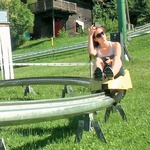 Maja Keuc: Uživala na Pohorju (foto: Story press)