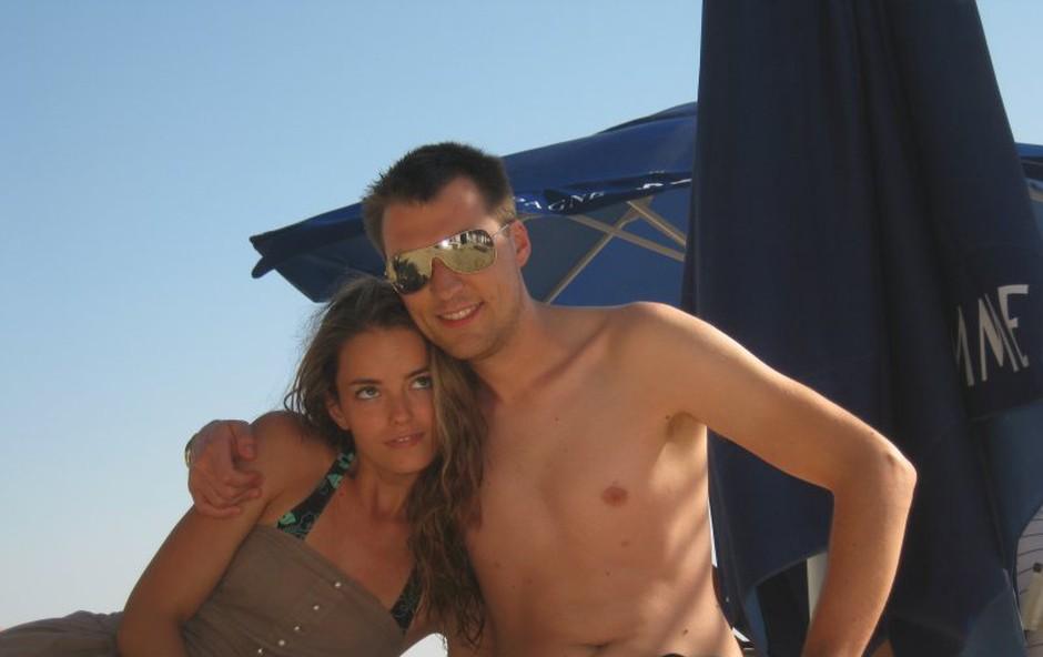 Rok Žlindra in Barbara Ogrinc: Romantičen dopust na morju (foto: Don Felipe)