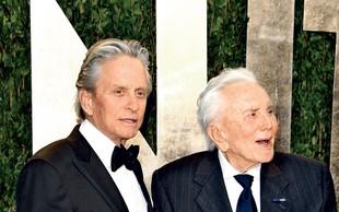 Michael Douglas čestital očetu Kirku za njegov 102. rojstni dan!