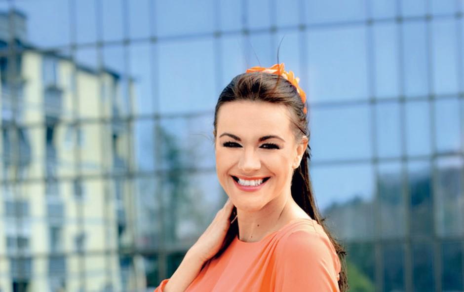 Rebeka Dremelj: Rada bi postala kul mama (foto: Primož Predalič)