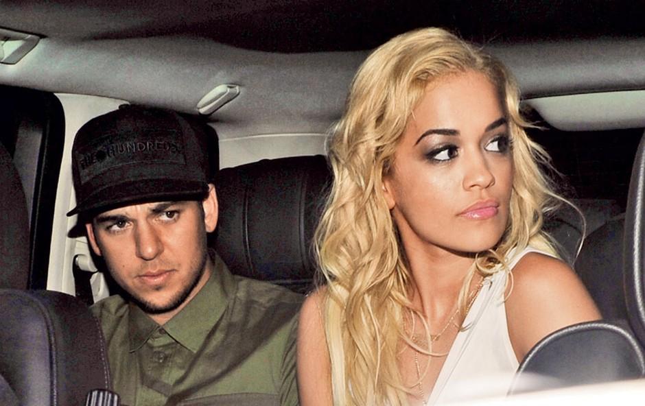 Rita Ora: Bila je z Brunom Marsom (foto: Profimedia.si)