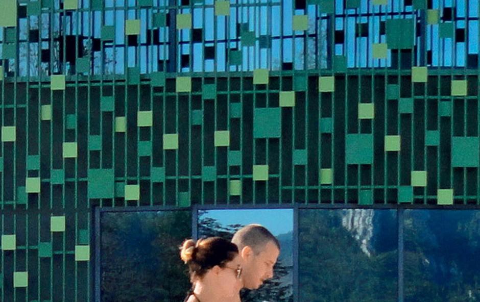 Sanja Grohar: Paparac jo je s fantom ujel na romantičnem oddihu (foto: Story press)
