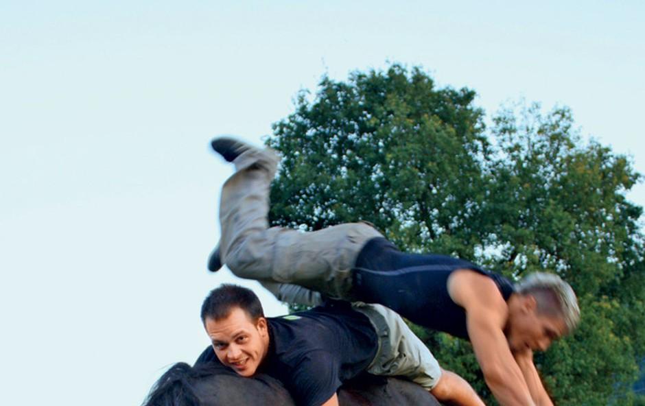 Tomy Mihičinac: Trenira s konji (foto: Miša Margan)