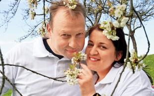 Erika Mubi in Damijan Smolak: Že poročena