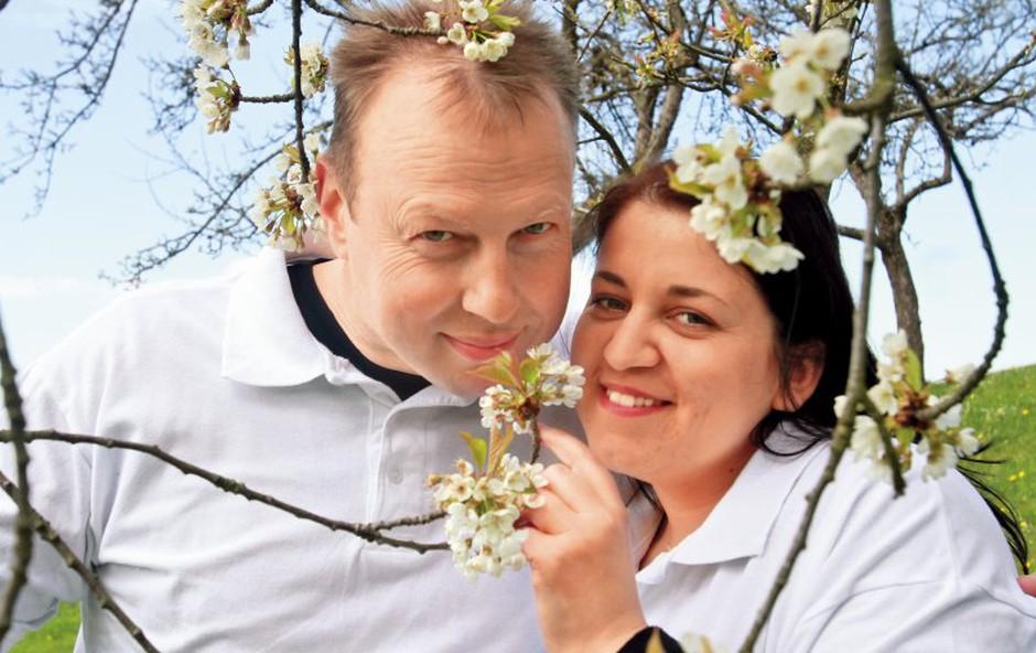 Erika Mubi in Damijan Smolak: Že poročena (foto: Goran Antley)