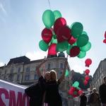 Ljubljana v Cosmopolitanovih balonih! (foto: Aleš Pavletič)