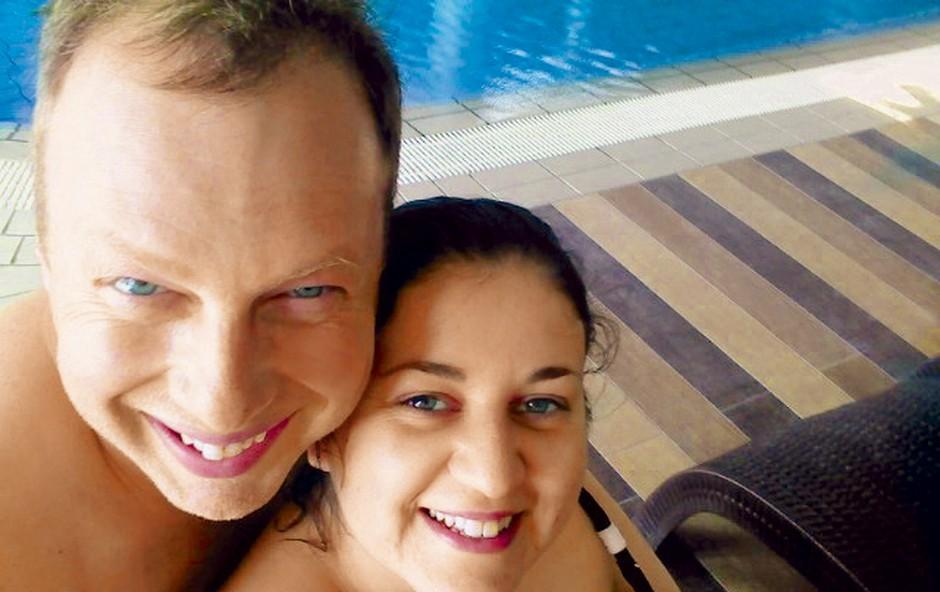 Mladoporočenca sta fotoutrinke s poročnega potovanja namenila bralcem reviji Nova. (foto: Osebni arhiv)
