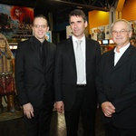 Marko Naberšnik, Sergej Racman, Franci Zajc (foto: Sladjan Jovic, poglej.se )