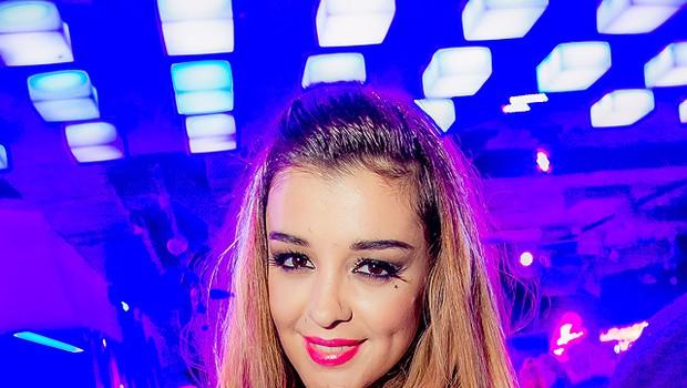 Sanja je v klub Top Six privabila več kot 1000 ljudi. (foto: Žiga Intihar)