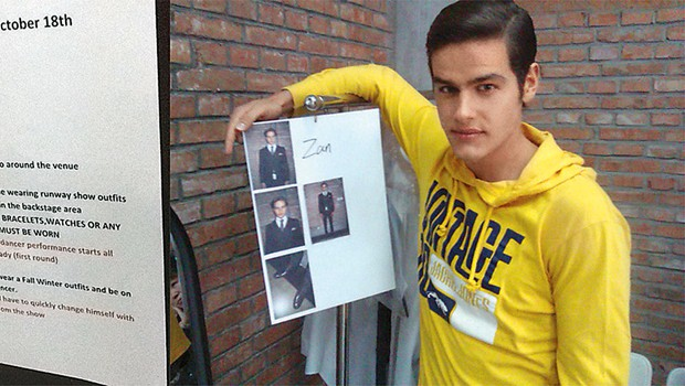 Žan Cvet: Navdušil tuje agente (foto: Osebni arhiv)