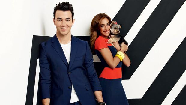 Kevin in Danielle Jonas: Ko trčita  dva svetova (foto: E! Entertainment)