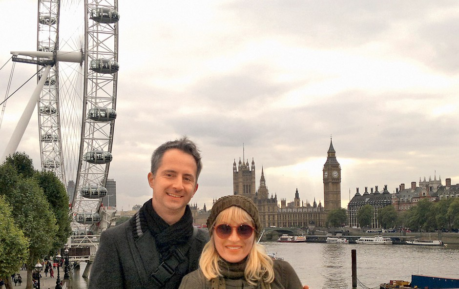 Ana Žvorc: Po Londonu (foto: Osebni arhiv)