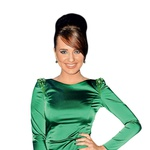 Jasmina Muhić na zabavi Planet TV. Kaj naj rečem, obleka ti izredno pristaja! Všeč mi je, ker si izbrala smaragdno zeleno, ki smo jo letos velikokrat videli na rdečih preprogah. Povsem primerna izbira glede na dogodek, aplavz! Tudi detajli so mi všeč, ker niso pretirani, sploh pa je odlično, da ima obleka dolge rokave. To ji doda seksapil! Ni kaj, videti si kot Bondovo dekle, kar tako naprej. Samo še opazka: nohti te malce izdajo ... Delujejo rahlo ceneno. (foto: Sašo Radej)