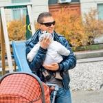 Damjan Murko: Prvi sprehod s Tiarjem (foto: Goran Antley)