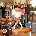 Na novo nastala 'glasbena skupina ORLI' napol v šali pravi, da bodo zasedli prvo mesto na YouTubu in se prihodnje leto celo prijavili na X Factor ali šov talentov. (foto: Goran Antley)