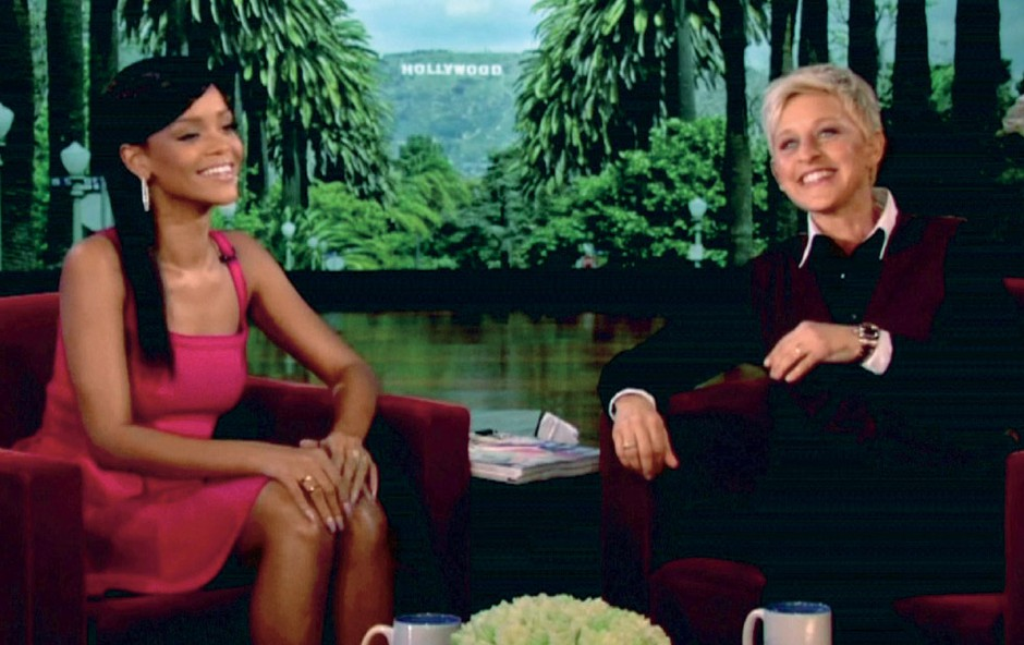 Pevka je kot gostja šova slavne voditeljice Ellen DeGeneres med drugim spregovorila tudi o želji, da bi imela družino.  (foto: Profimedia.si)