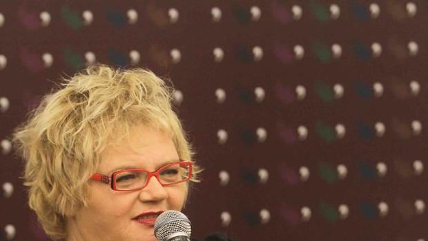 Desa Muck izdala novi roman za odrasle z naslovom Odred (foto: Goran Antley)