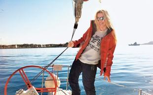 Danica Lovenjak: Uživala na jadranju