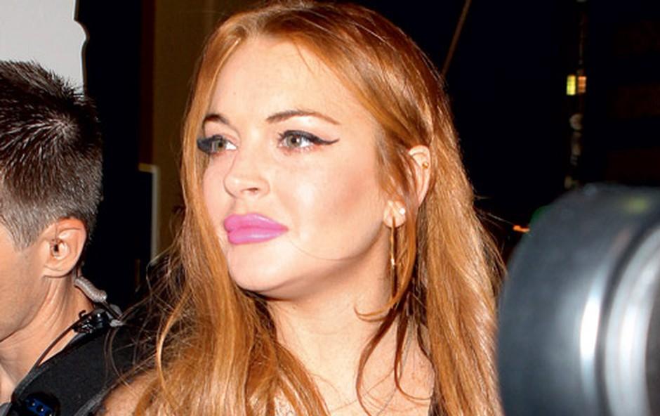 Lindsay Lohan: Ponovno v težavah (foto: Shutterstock)