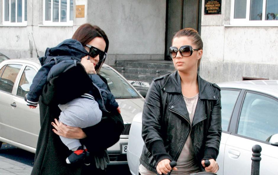 Severina: Aleksandra predstavlja prijateljem (foto: ADA)