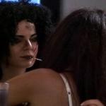 Sara in Domen sta se poljubila (foto: Planet TV)