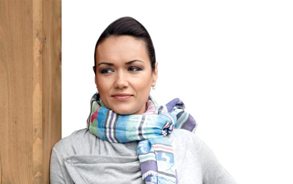 Alenka Košir: Pripravlja šov na ledu (foto: Helena Kermelj)