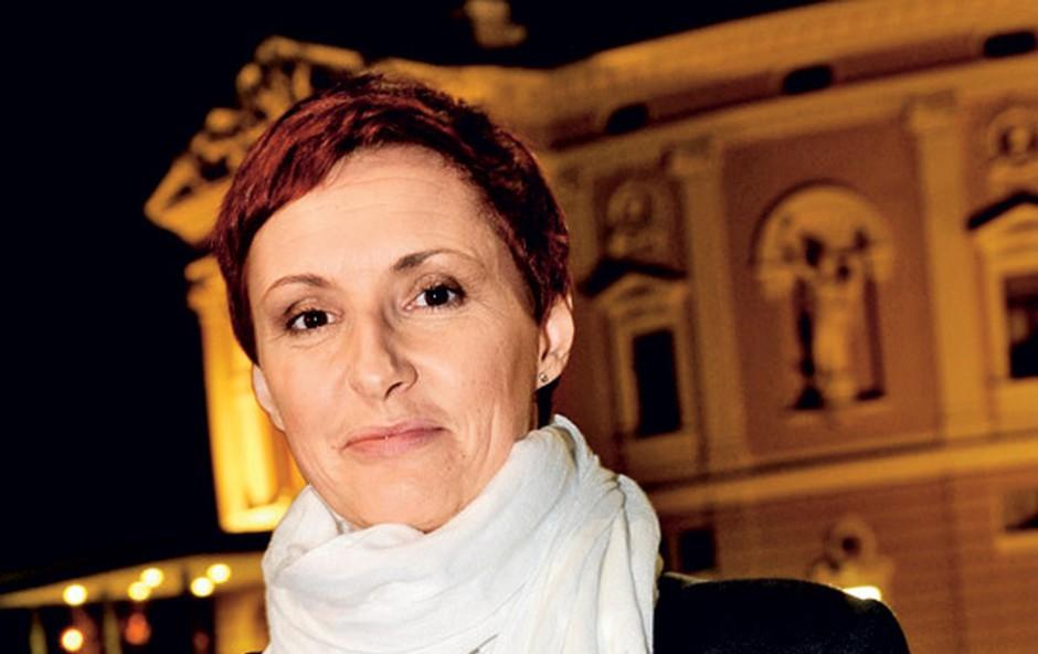 Lucija Ćirović: Spustila cene predstav (foto: Primož Predalič)
