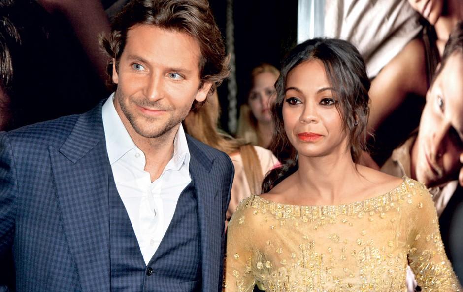 Bradley in Zoe sta se spoznala na snemanju filma The Words in bila skupaj tri mesece, preden sta marca lani prvič prekinila zvezo, a sta se septembra pobotala, zdaj pa sta se ponovno razšla.  (foto: Shutterstock)