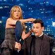 Jennifer Aniston: Postrigla televizijskega voditelja